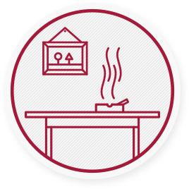 U lidí vystavených kouři v interiéru je 2-3krát vyšší pravděpodobnost rozvoje chronické obstrukční plicní nemoci.