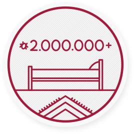 In einer einzigen Matratze können mehr als 2Millionen Hausstaubmilben leben! Diese fühlen sich in feuchter und warmer Umgebung am wohlsten, wie etwa in Matratzen.