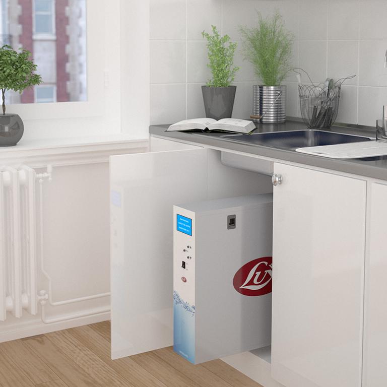 verwenden Sie Wasserfilter und vergessen Sie nicht, die Filter regelmäßig zu wechseln