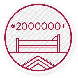In einer einzigen Matratze können mehr als 2Millionen Hausstaubmilben leben!