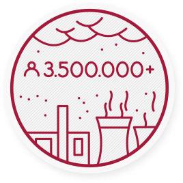 Außenluftverschmutzung ist die Ursache für weltweit über 3,5Millionen Todesfälle im Jahr.