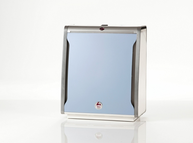Ice blue front panel