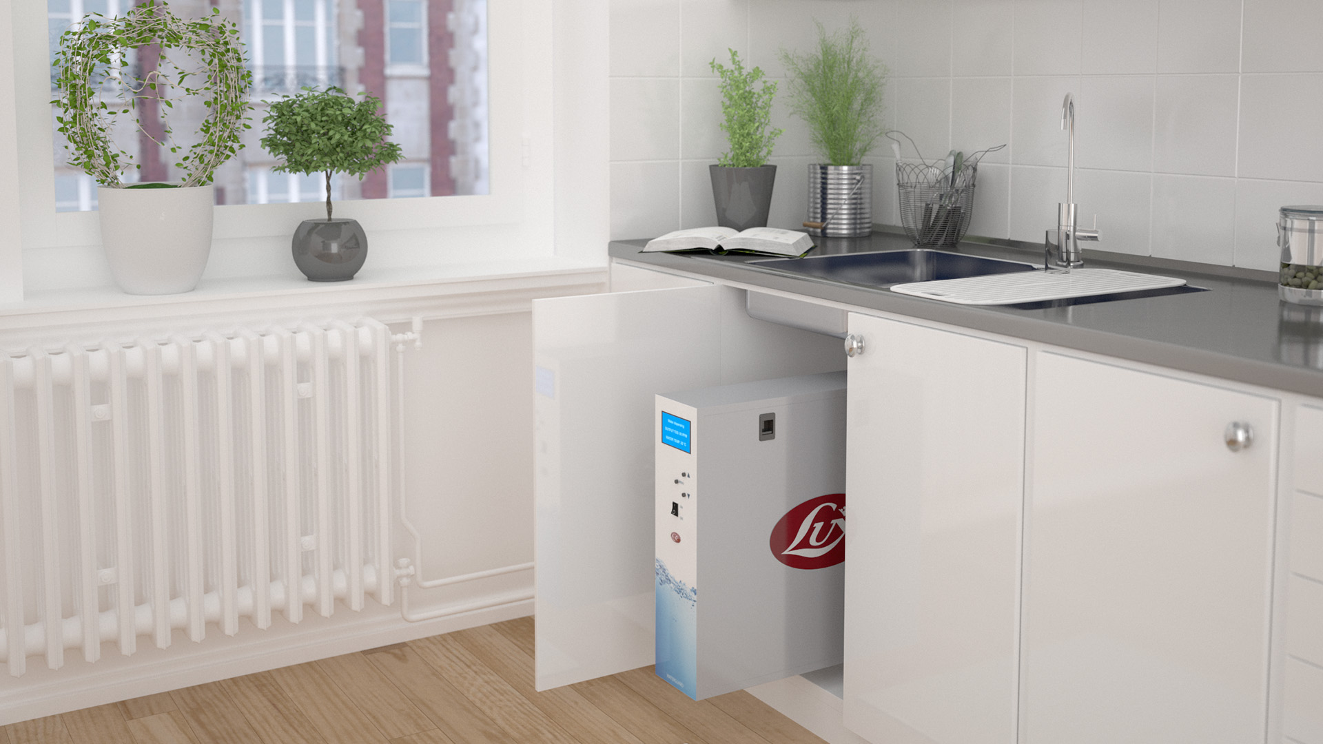 Waterguard premium water purifier - Lux International