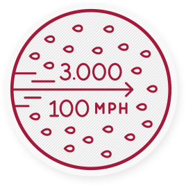 One sneeze can spray 3000 infectious droplets into the air at more than 100 mph