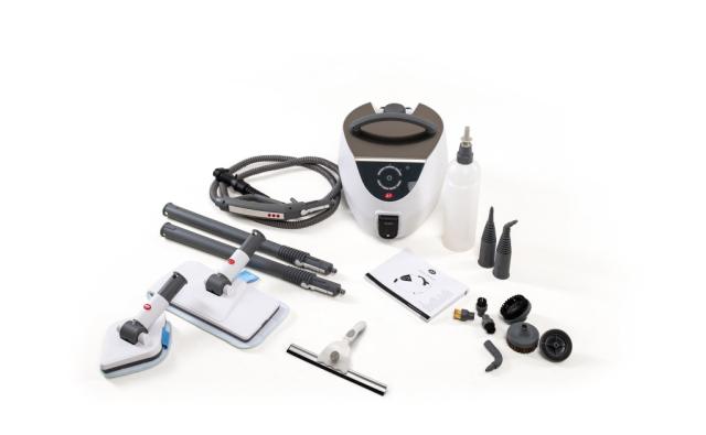Az Ecolux 115 gőztisztító rendszer új tisztítási kényelmet kínál a gőz természetes erejével.