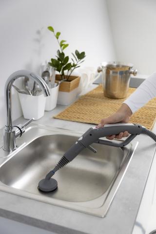 Ecolux 115 gőztisztító hatékony takarítás és fertőtlenítés családoknak