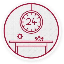 Virus del raffreddore e dell'influenza possono vivere fino a 24 h su superfici solide come scrivanie e tavoli.