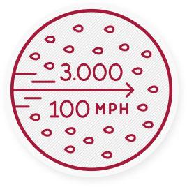 Et nys kan spre 3000 smittsomme dråper ut i luften i mer enn 100 kilometer i timen.