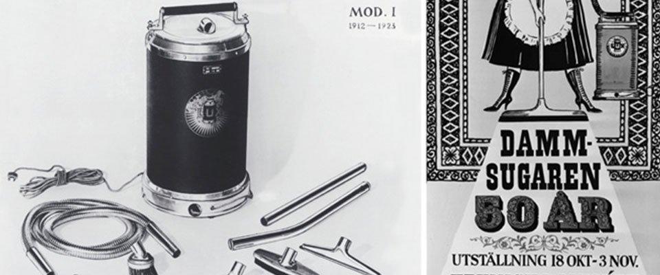 Støvsugerens historie Lux International
