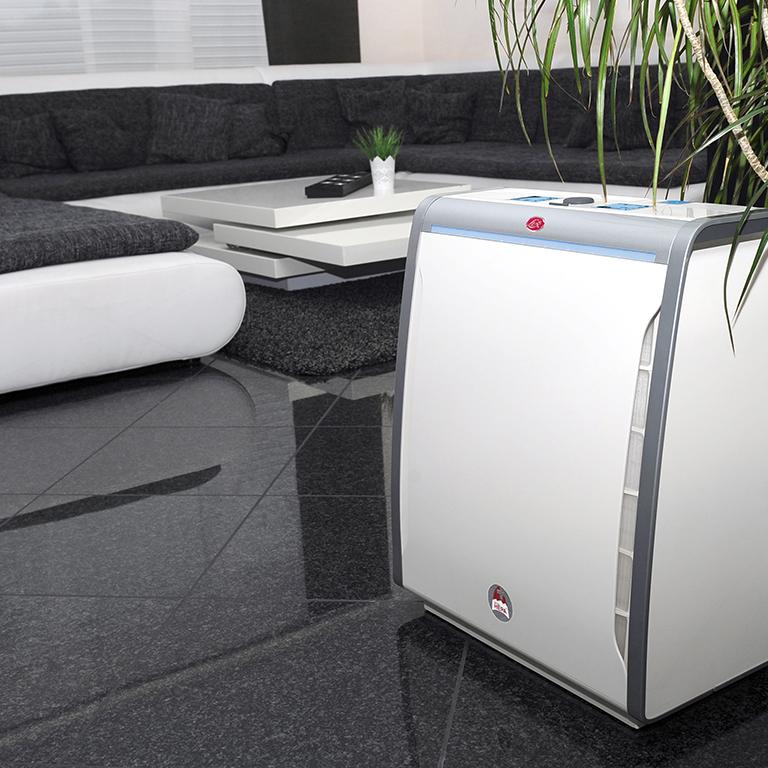 Používanie čističky vzduchu