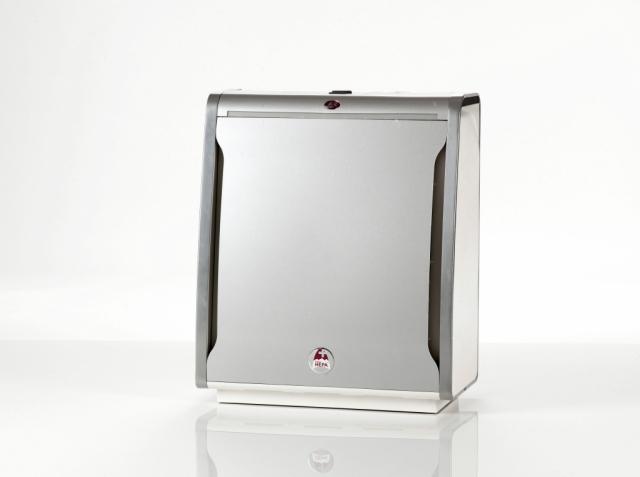 Titanium silver front panel
