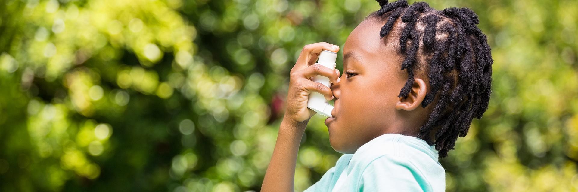 Zníženie príznakov astmy